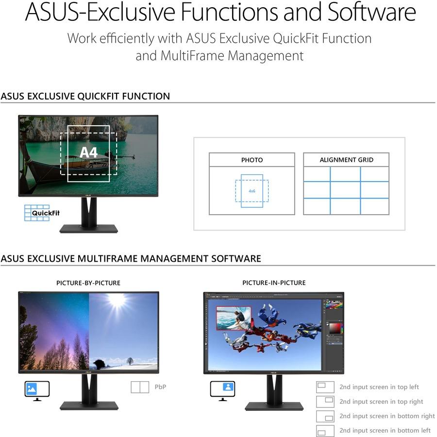 "Asus ProArt PA329C 32"" 4K UHD LED LCD Monitor - 16:9 - Black_subImage_17"