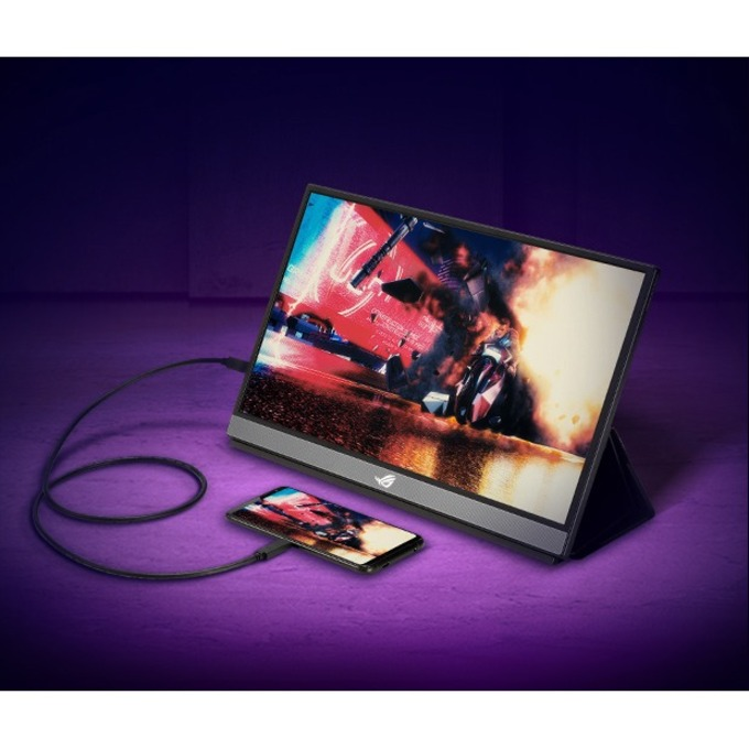 "Asus ROG Strix XG17AHPE 17.3"" Full HD Gaming LCD Monitor - 16:9 - Black_subImage_17"