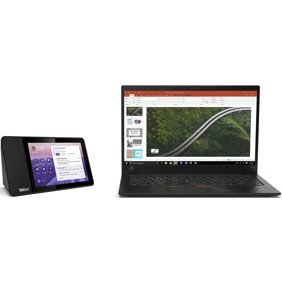 "Lenovo ThinkSmart View ZA840013US Tablet - 8"" HD - 2 GB RAM - 8 GB Storage - Android 8.1 Oreo - Business Black_subImage_17"