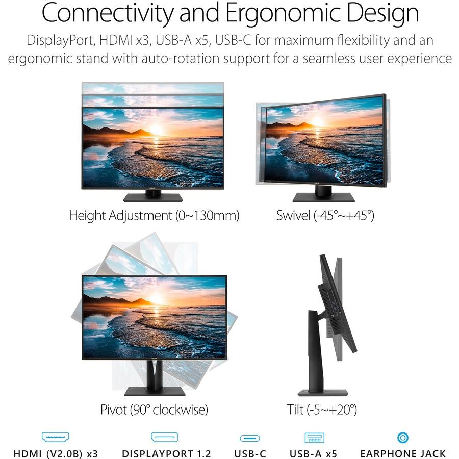 "Asus ProArt PA329C 32"" 4K UHD LED LCD Monitor - 16:9 - Black_subImage_19"