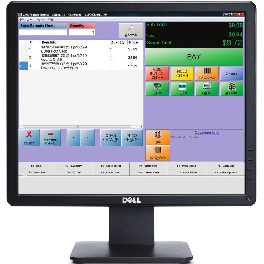 "Dell E1715S 17"" SXGA LED LCD Monitor - 5:4_subImage_20"