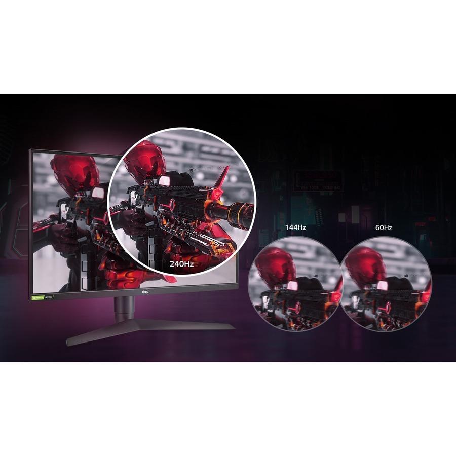 "LG UltraGear 27GN75B-B 27"" Full HD Gaming LCD Monitor - 16:9 - Black, Red_subImage_17"