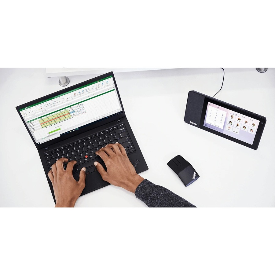 "Lenovo ThinkSmart View ZA840013US Tablet - 8"" HD - 2 GB RAM - 8 GB Storage - Android 8.1 Oreo - Business Black_subImage_19"