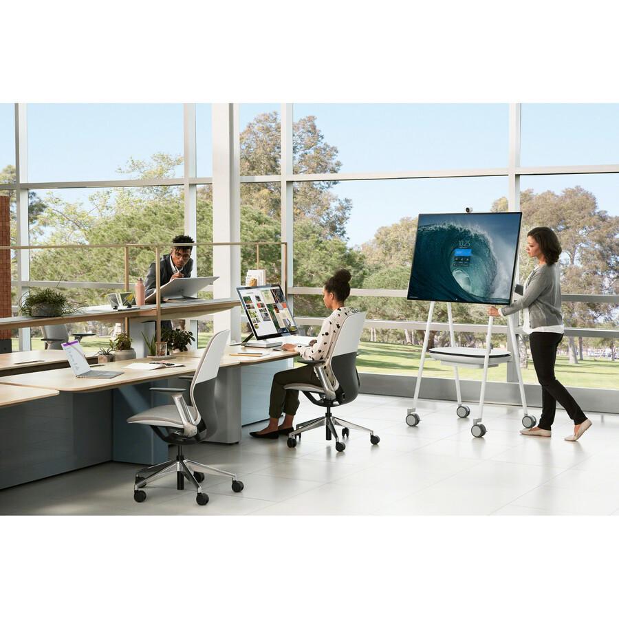 "Microsoft Surface Hub 2S All-in-One Computer - Intel Core i5 8th Gen - 8 GB RAM - 128 GB SSD - 50"" 3840 x 2560 Touchscreen Display - Desktop - Platinum_subImage_19"