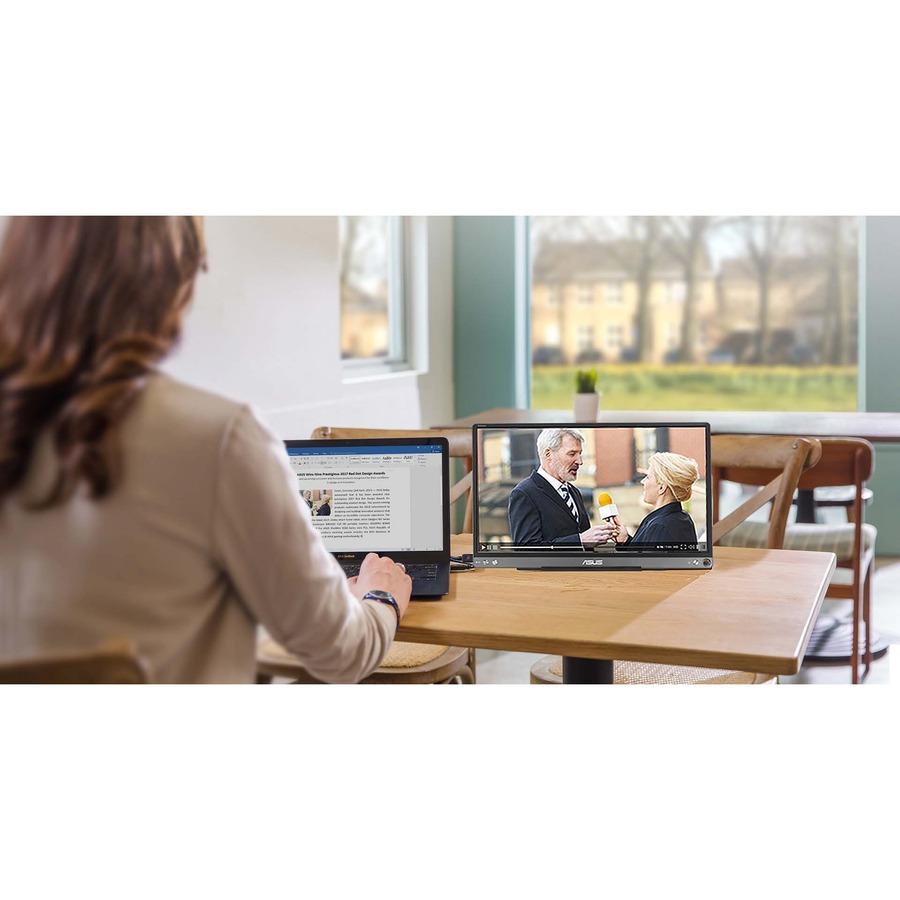"Asus ZenScreen MB16ACE 15.6"" Full HD LCD Monitor - 16:9 - Dark Gray_subImage_22"