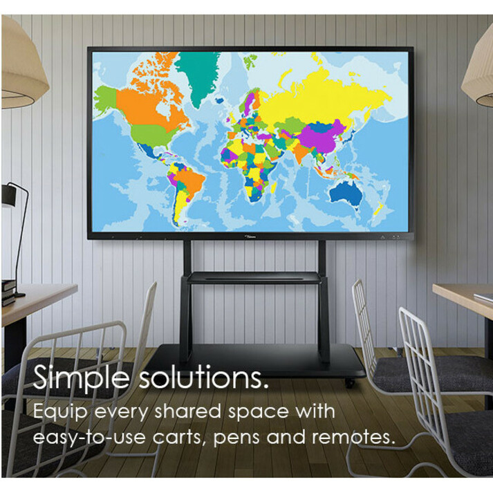 """Optoma Creative Touch OP751RK All-in-One Computer - ARM Cortex A73 - 2 GB RAM - 16 GB Flash Memory Capacity - 75"""" 3840 x 2160 Touchscreen Display - Desktop_subImage_24"""