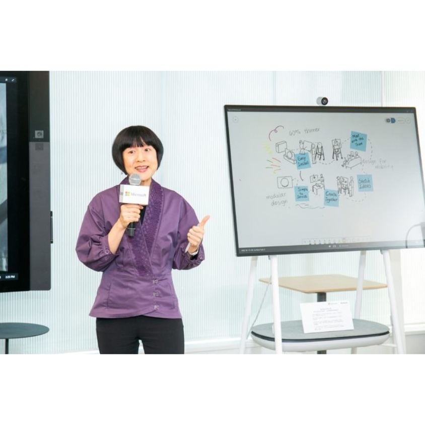 "Microsoft Surface Hub 2S All-in-One Computer - 8 GB RAM - 128 GB SSD - 85"" - Desktop_subImage_21"