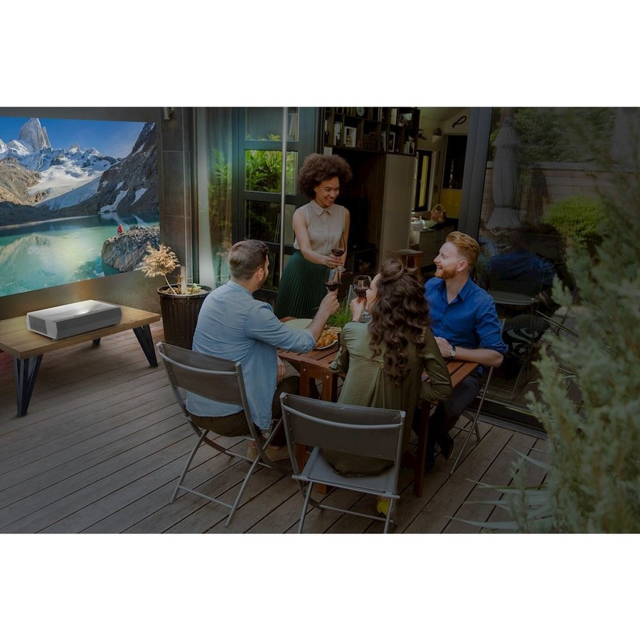 Optoma CINEMAX-P2 3D Ready Ultra Short Throw Laser Projector - 16:9_subImage_26