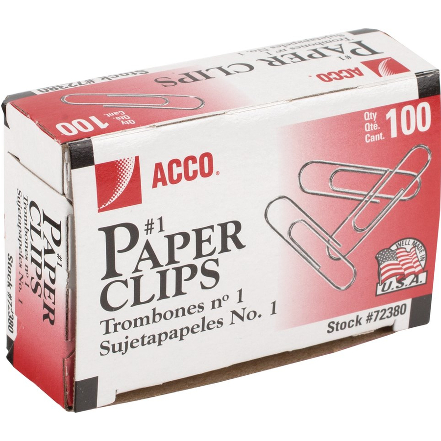 Acco Economy #1 Paper Clips