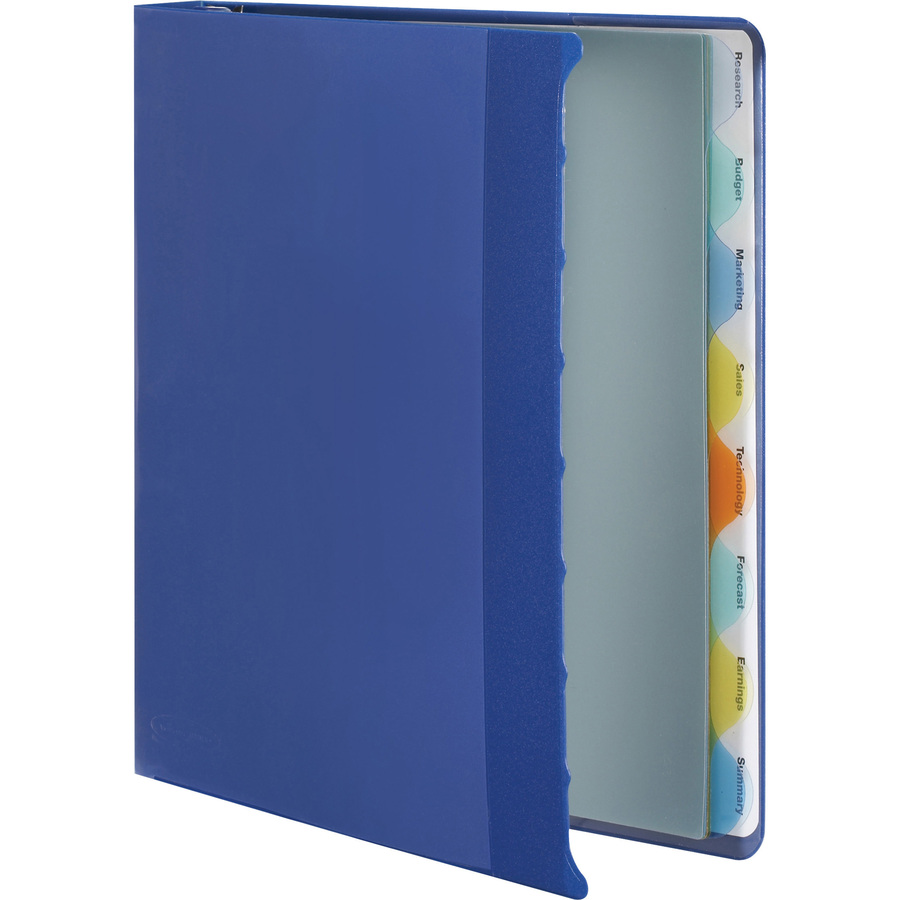 templates wilson jones 8 tabs - wilson jones view tab presentation binder wlj55096