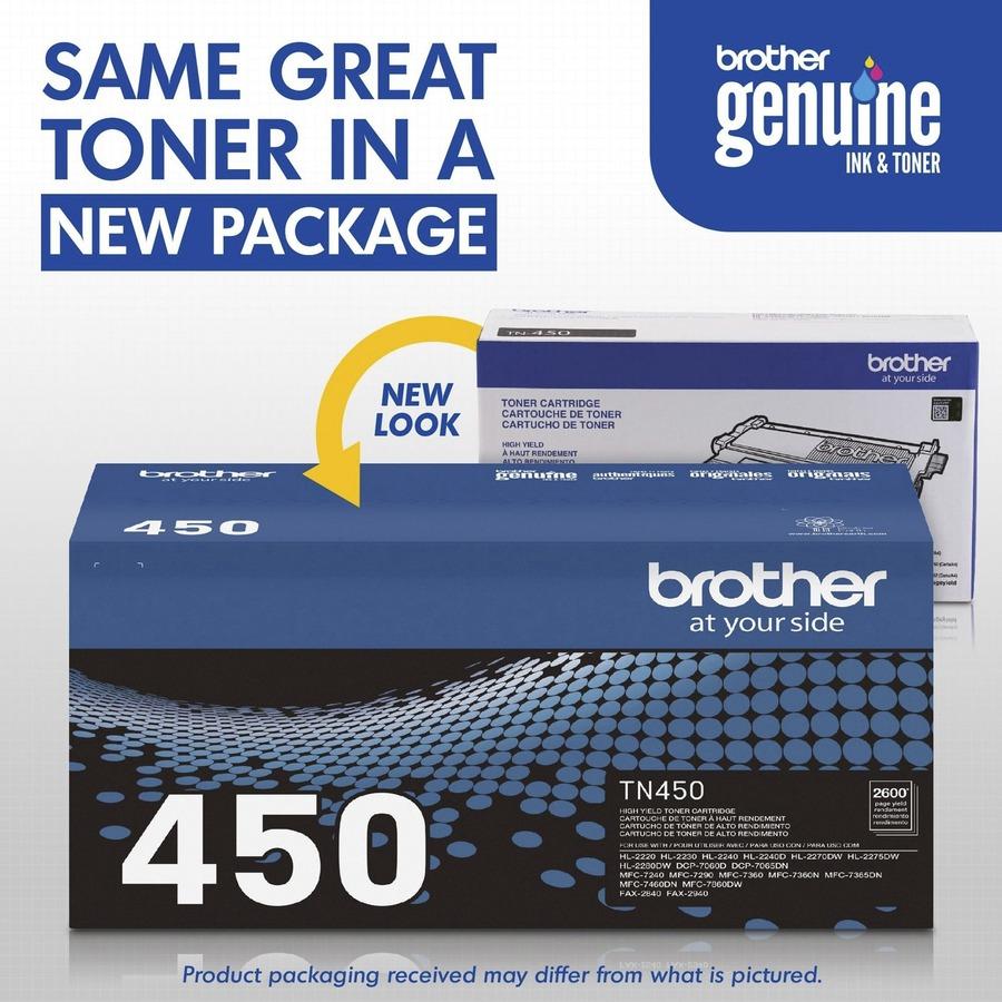 Brother TN450 High Yield Toner Cartridge