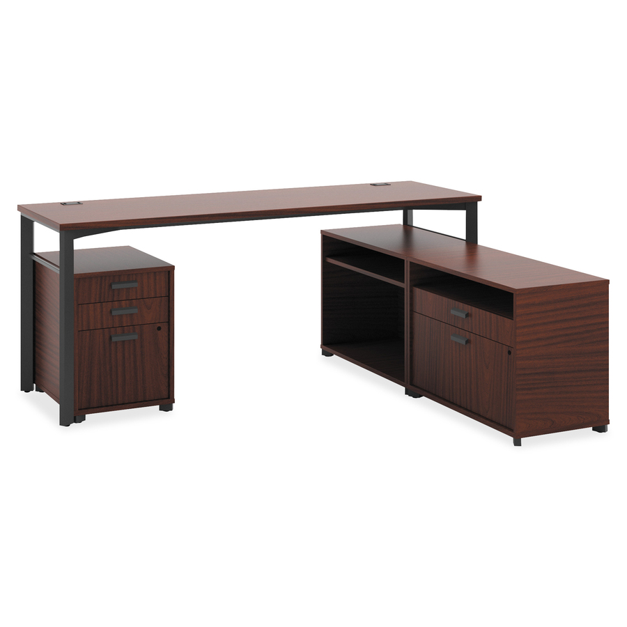 Basyx By HON Manage Series Chestnut Office Furniture