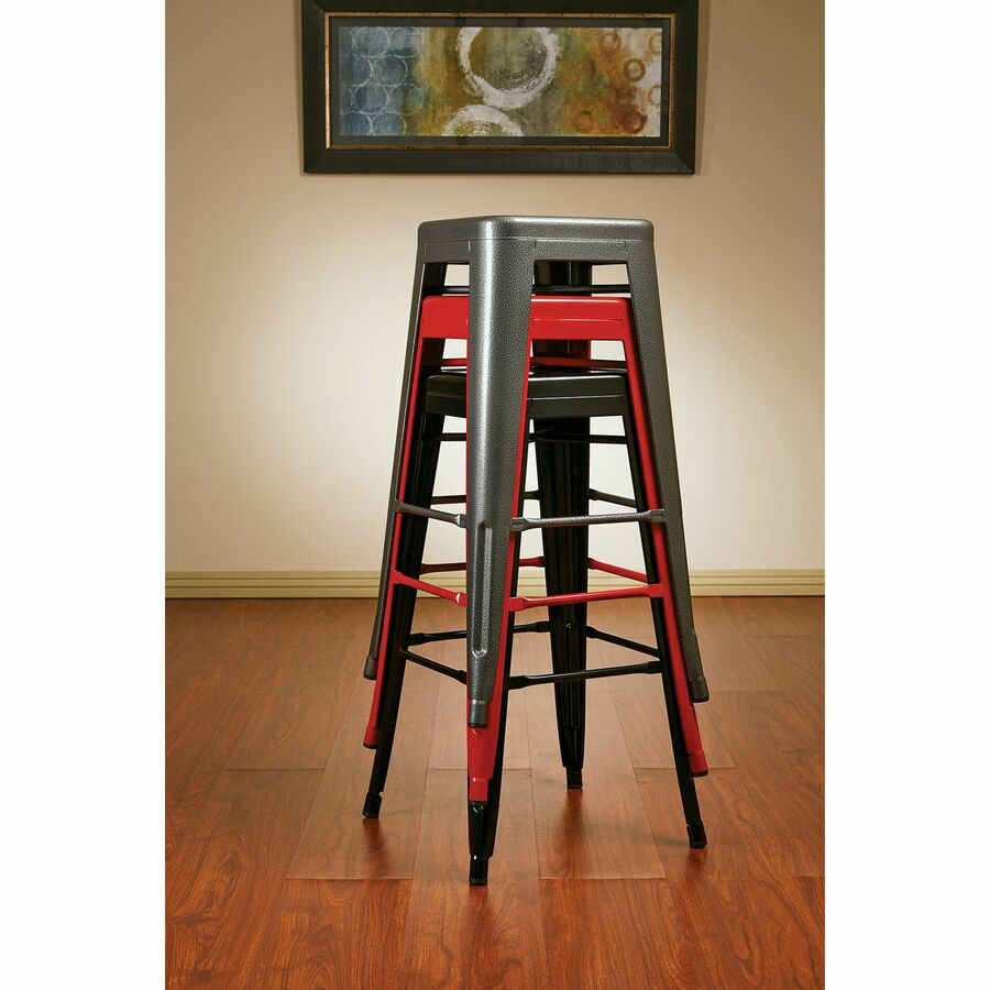 office star patterson 30 steel backless barstool