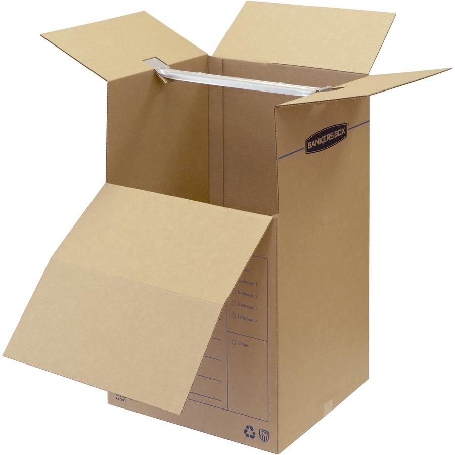 Bankers Box SmoothMove™ Wardrobe Box 3pk Urban fice
