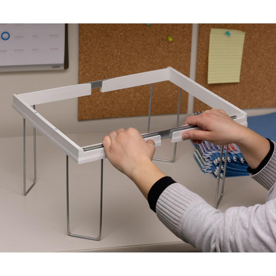 Smead Heavy-Duty Adjustable Frame for Hanging Folders