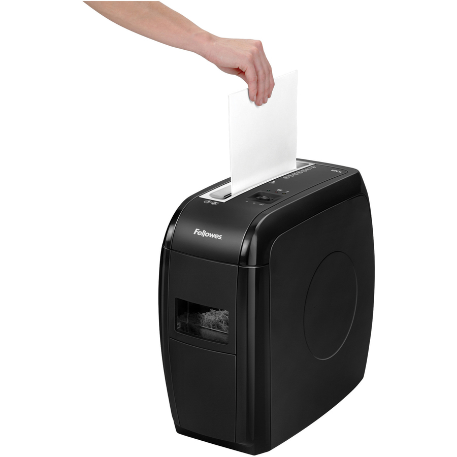 crosscut paper shredder Cross-cut shredders tend to get more paper stuck in between the blades to keep the blades lubricated and running properly, use shredder oil occasionally lubricating sheets also help keep the shredder lubricated and aren't as messy as shredder oil.