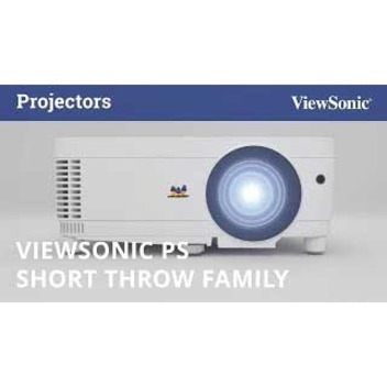 Viewsonic PS600W 3D Ready Short Throw DLP Projector - 16:10_subImage_9