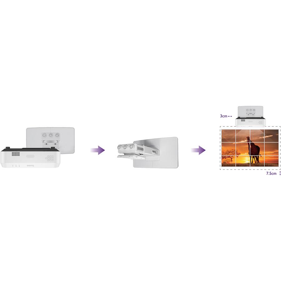 BenQ LW890UST 3D Ready Ultra Short Throw DLP Projector - 16:10_subImage_9