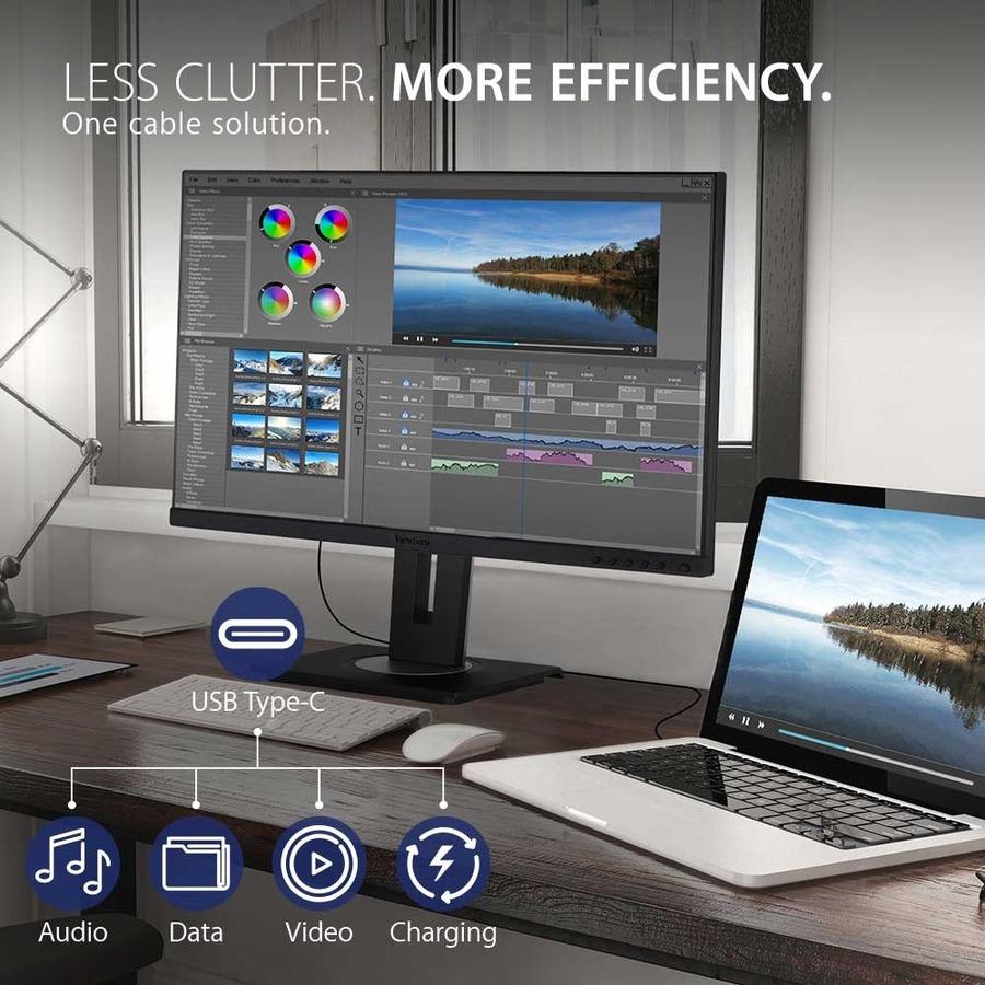 "Viewsonic VG2755 27"" Full HD WLED LCD Monitor - 16:9 - Black_subImage_7"