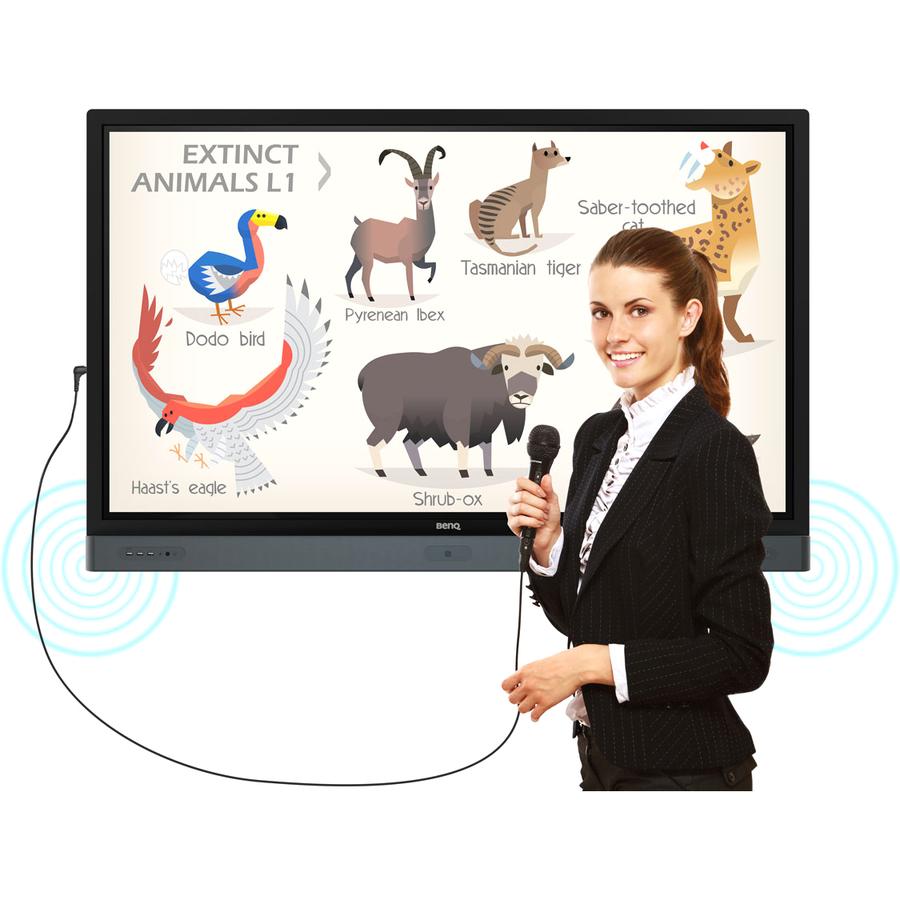 "BenQ Education RP7501K 75"" LCD Touchscreen Monitor - 16:9 - 8 ms_subImage_8"