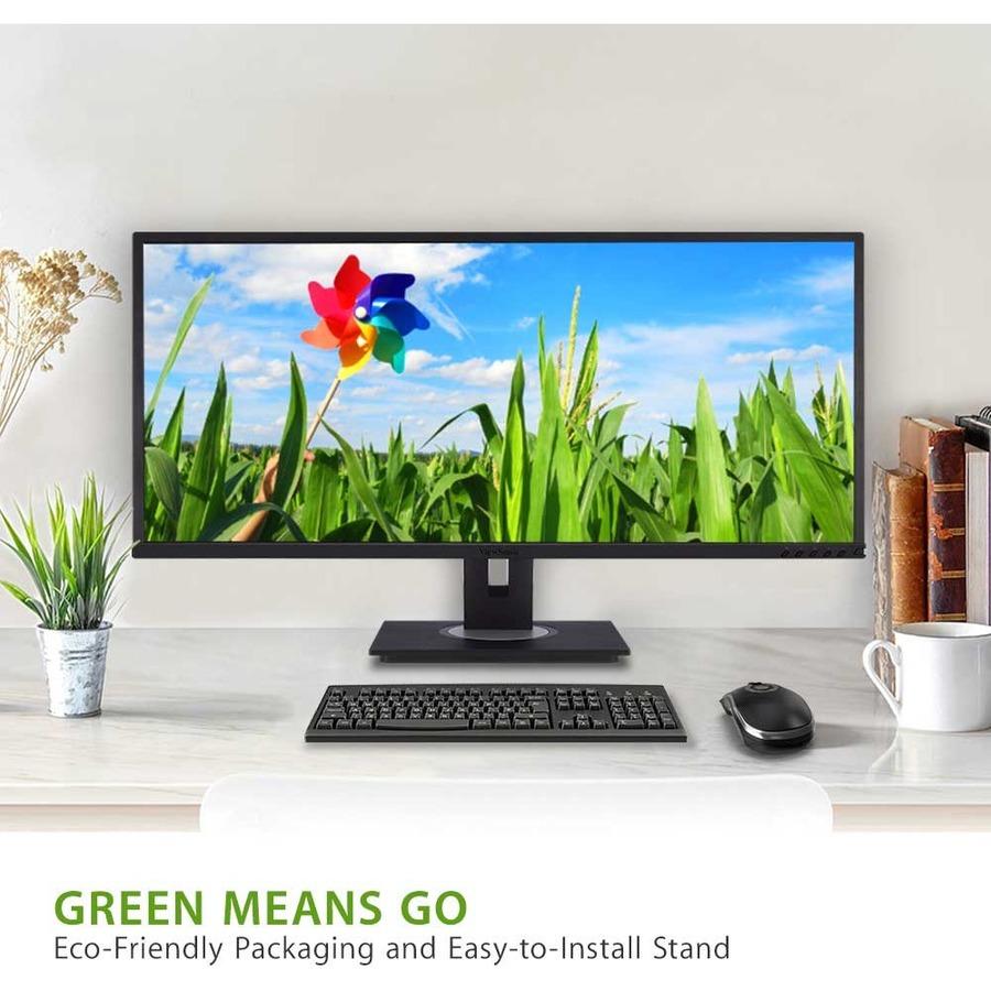 """Viewsonic VG3448 34"""" WQHD LCD Monitor - 16:9 - Black_subImage_6"""