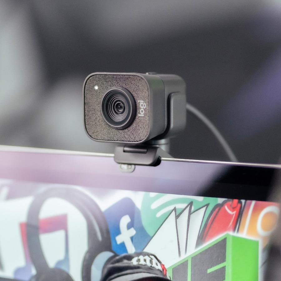 Logitech Webcam - 2.1 Megapixel - 60 fps - Graphite - USB_subImage_5
