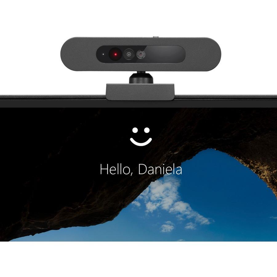 Lenovo Webcam - 30 fps - Black - USB 2.0 - Retail - 1 Pack(s)_subImage_7