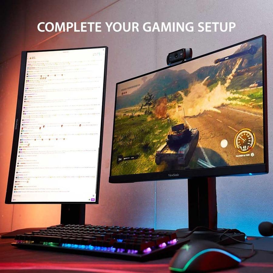 "Viewsonic XG2405 23.8"" Full HD LED Gaming LCD Monitor - 16:9_subImage_8"