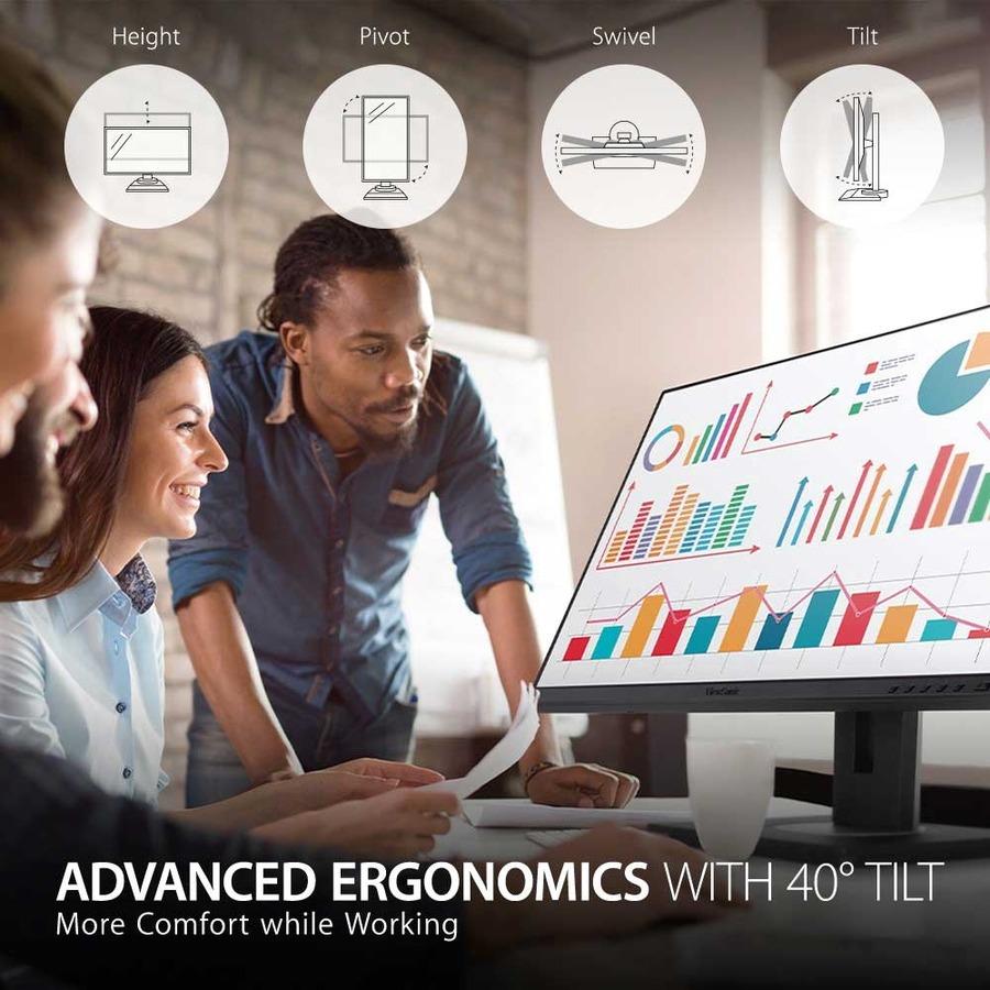 "Viewsonic VG2756-2K 27"" WQHD LED LCD Monitor - 16:9 - Black_subImage_9"