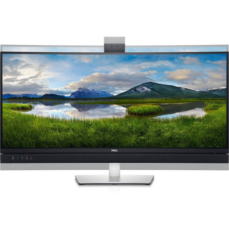 """Dell C3422WE 34.1"""" WQHD Curved Screen Edge WLED LCD Monitor - 21:9 - Platinum Silver_subImage_10"""