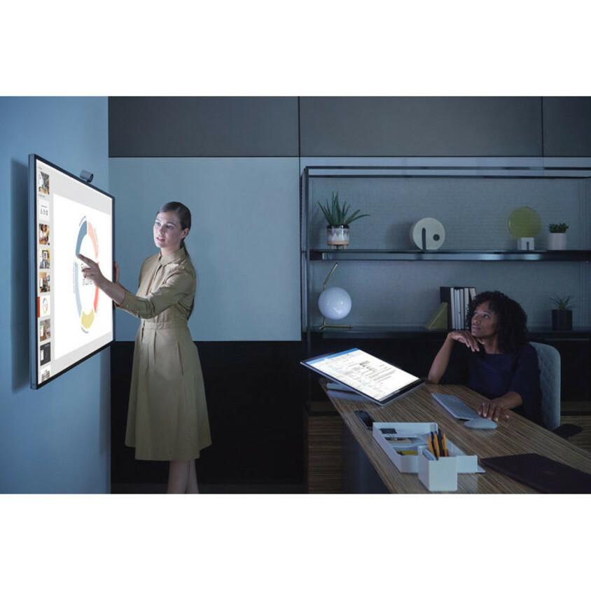 "Microsoft Surface Hub 2S All-in-One Computer - Intel Core i5 8th Gen - 8 GB RAM - 128 GB SSD - 50"" 3840 x 2560 Touchscreen Display - Desktop - Platinum_subImage_25"