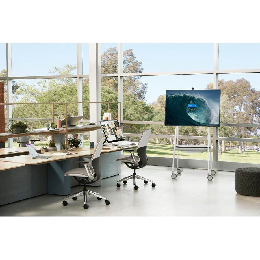 "Microsoft Surface Hub 2S All-in-One Computer - Intel Core i5 8th Gen - 8 GB RAM - 128 GB SSD - 50"" 3840 x 2560 Touchscreen Display - Desktop - Platinum_subImage_28"