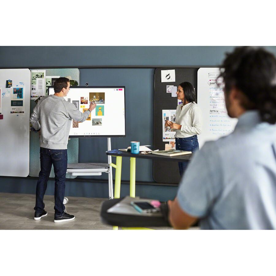 "Microsoft Surface Hub 2S All-in-One Computer - Intel Core i5 8th Gen - 8 GB RAM - 128 GB SSD - 50"" 3840 x 2560 Touchscreen Display - Desktop - Platinum_subImage_29"