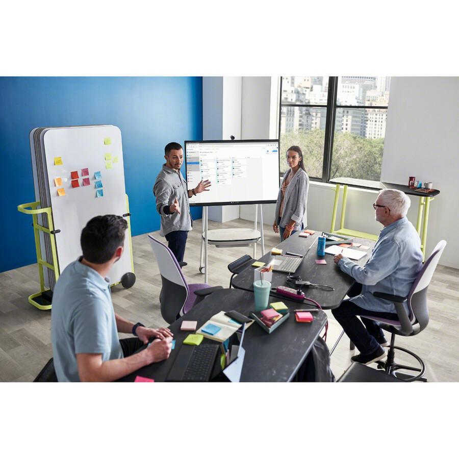 "Microsoft Surface Hub 2S All-in-One Computer - Intel Core i5 8th Gen - 8 GB RAM - 128 GB SSD - 50"" 3840 x 2560 Touchscreen Display - Desktop - Platinum_subImage_30"
