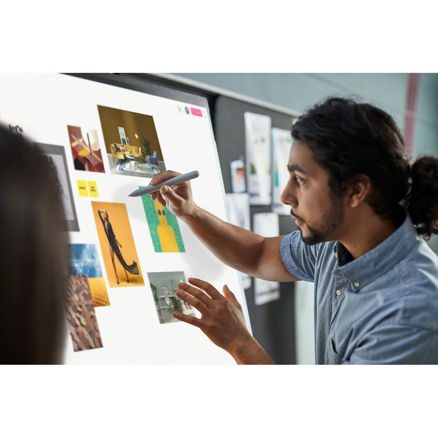 "Microsoft Surface Hub 2S All-in-One Computer - Intel Core i5 8th Gen - 8 GB RAM - 128 GB SSD - 50"" 3840 x 2560 Touchscreen Display - Desktop - Platinum_subImage_31"