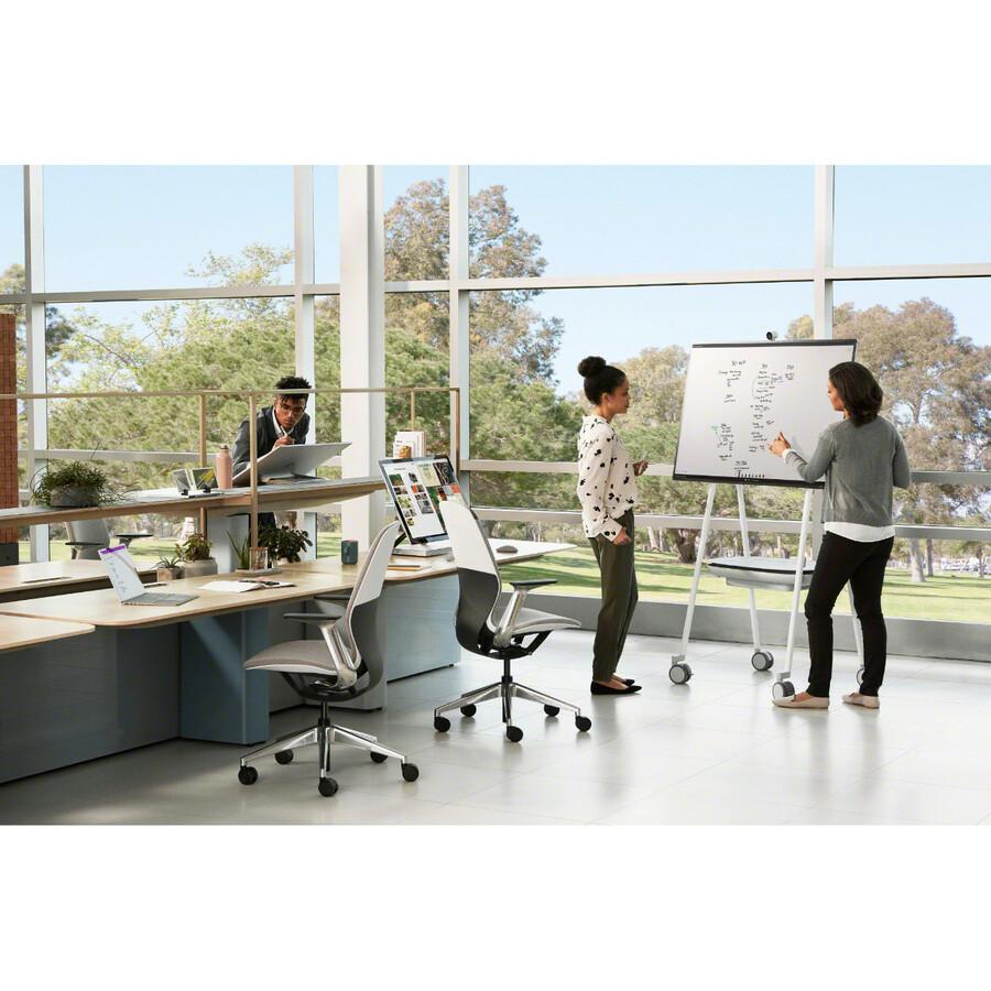 "Microsoft Surface Hub 2S All-in-One Computer - Intel Core i5 8th Gen - 8 GB RAM - 128 GB SSD - 50"" 3840 x 2560 Touchscreen Display - Desktop - Platinum_subImage_33"