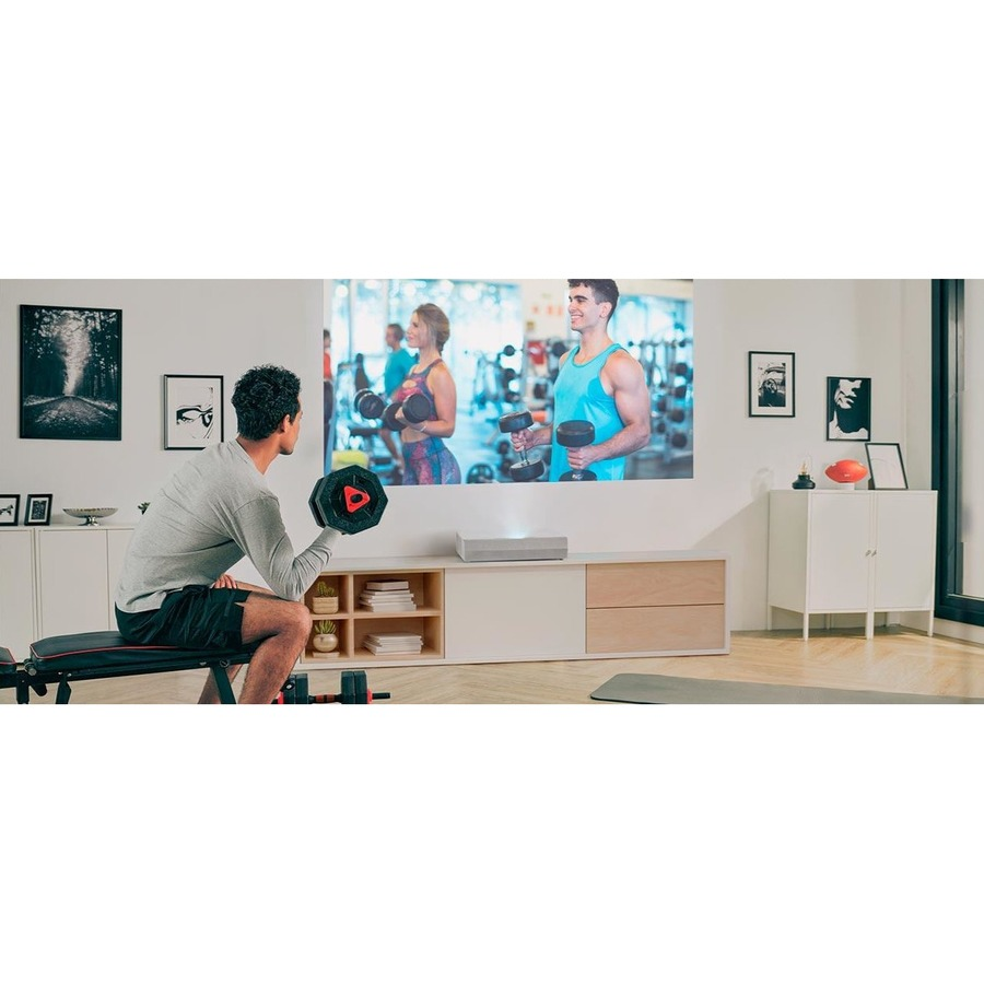 Optoma CINEMAX-P2 3D Ready Ultra Short Throw Laser Projector - 16:9_subImage_36