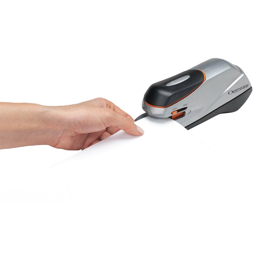 Optima Grip Dual Power Swingline Electric Stapler 20 Sheet Capacity Silver...
