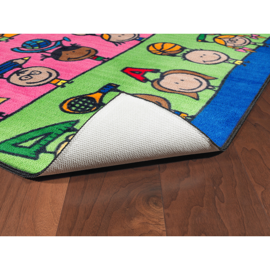 Flagship carpets easy care fun at school rug for Easy rugs