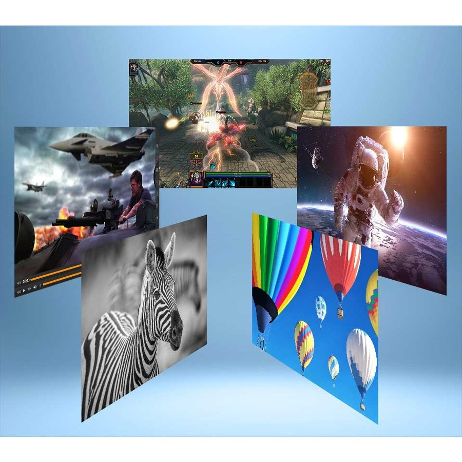 Viewsonic VX4380-4K 4K UHD WLED LCD Monitor - 16:9 - Black, Gray_subImage_8