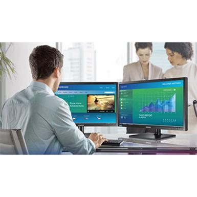 "Samsung S24H850QFN 23.8"" WQHD LED LCD Monitor - 16:9 - Black_subImage_10"