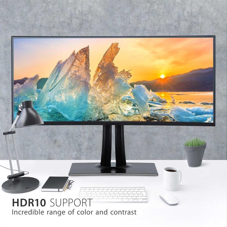 "Viewsonic VP3881 38"" UW-QHD+ Curved Screen WLED LCD Monitor - 21:9 - Black_subImage_10"