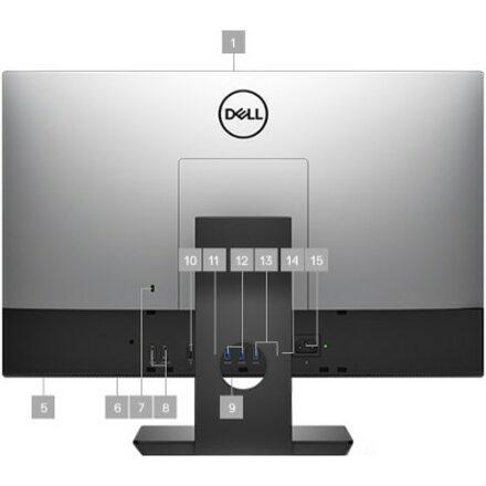"Dell OptiPlex 7000 7460 All-in-One Computer - Intel Core i5 8th Gen i5-8500 3 GHz - 8 GB RAM DDR4 SDRAM - 500 GB HDD - 23.8"" 1920 x 1080 Touchscreen Display - Desktop_subImage_8"