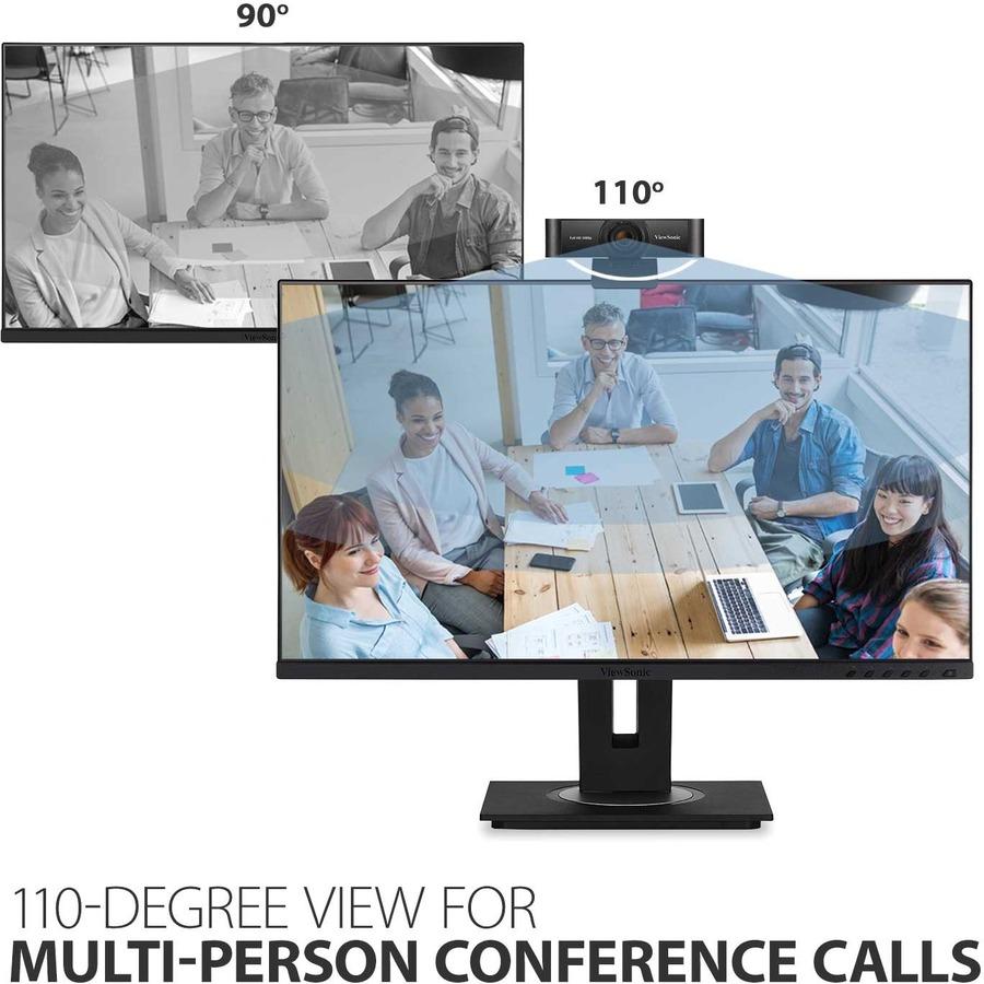 Viewsonic Webcam - 2.1 Megapixel - 30 fps - Black - USB 2.0_subImage_9