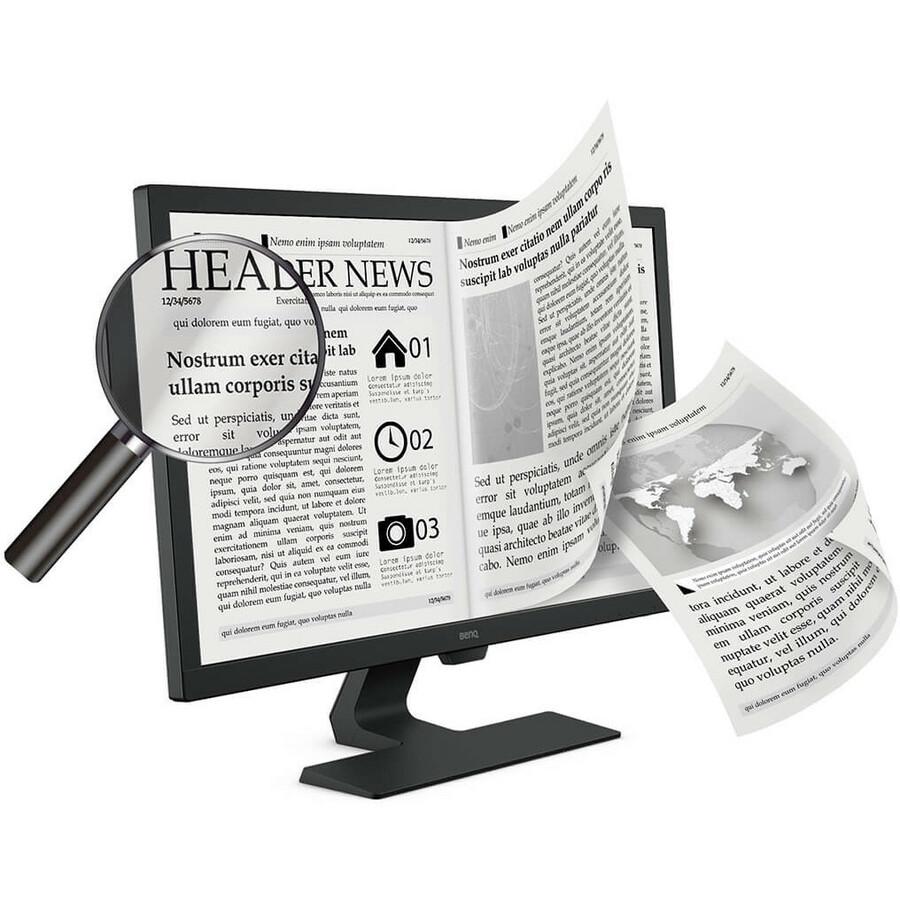 "BenQ GL2480 23.8"" Full HD WLED LCD Monitor - 16:9 - Black_subImage_10"