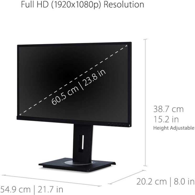 "Viewsonic VG2448-PF 23.8"" Full HD WLED LCD Monitor - 16:9_subImage_8"