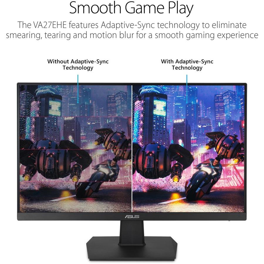 "Asus VA27EHE 27"" Full HD WLED Gaming LCD Monitor - 16:9 - Black_subImage_7"