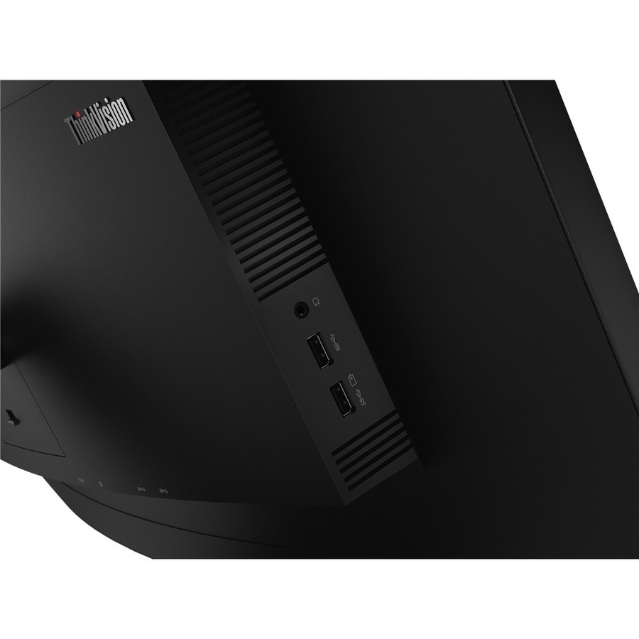 """Lenovo ThinkVision T34w-20 34"""" WQHD Curved Screen WLED LCD Monitor - 21:9 - Raven Black_subImage_8"""