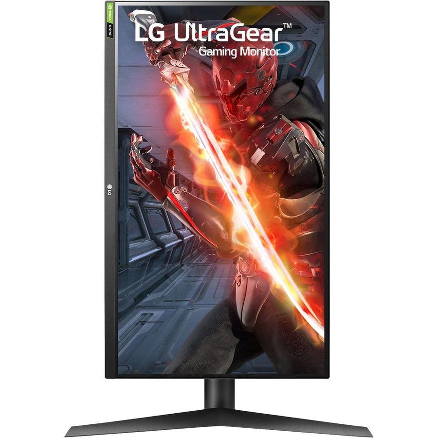 "LG UltraGear 27GN75B-B 27"" Full HD Gaming LCD Monitor - 16:9 - Black, Red_subImage_8"