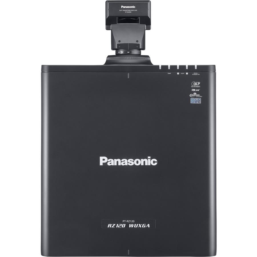 Panasonic SOLID SHINE PT-RZ120 DLP Projector - 16:10 - Black_subImage_8